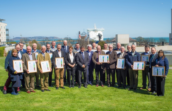 Groups presented with Forest Certification Group Certs 30th April 2018